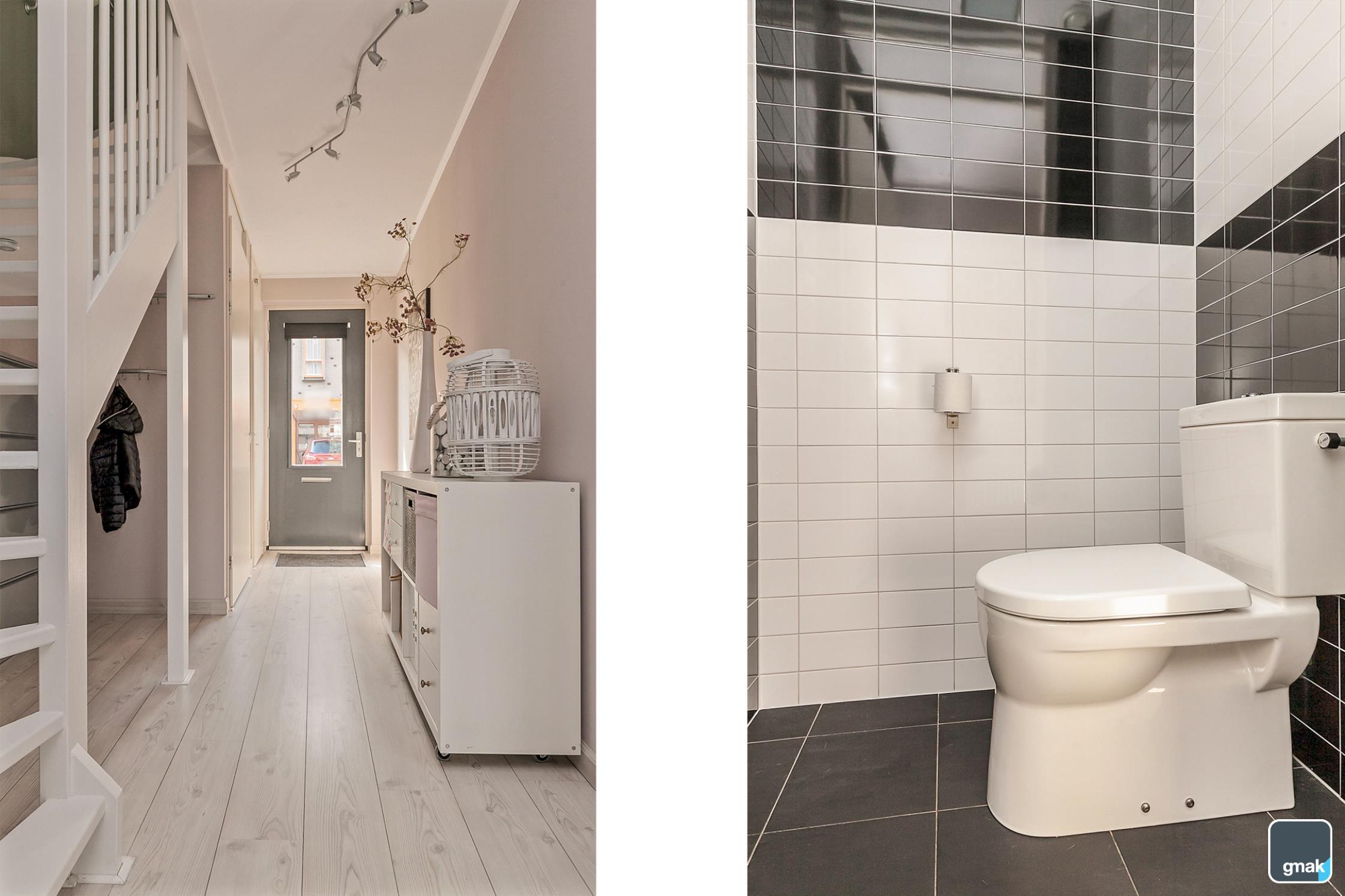 Hal beneden - Toilet Hal