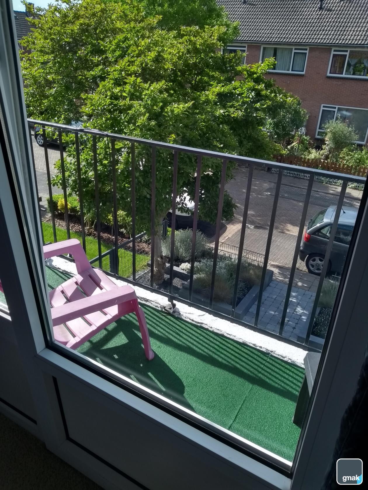 balkon van slaapkamer 1